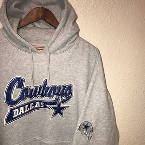 NFL Dallas Cowboys Large Embroidery Hoodie